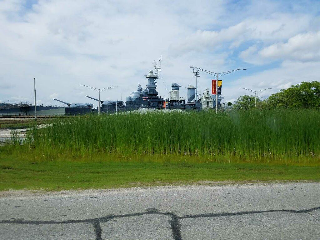Trip to North Carolina Battleship