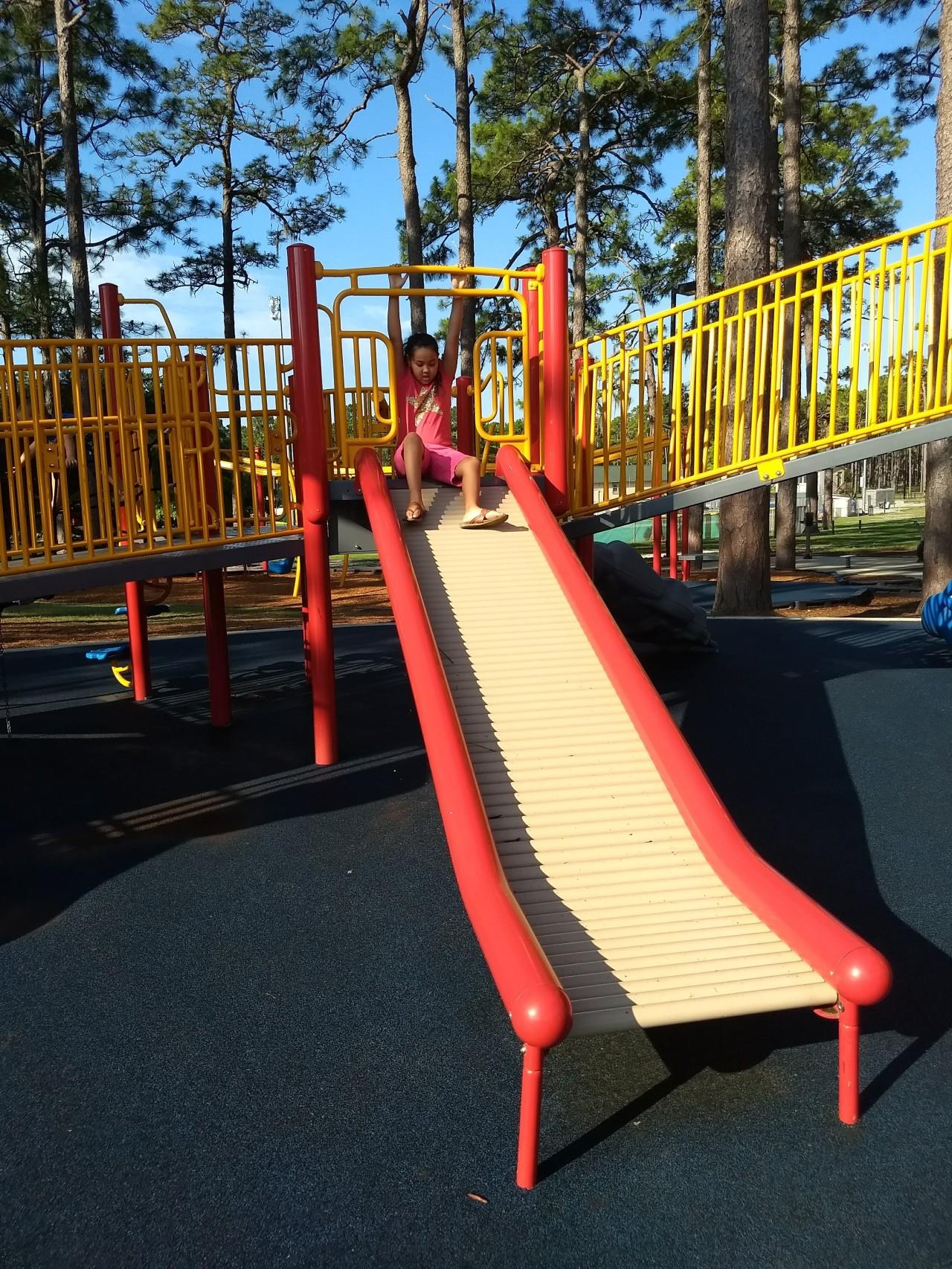 Hugh MacRae Park in Wilmington,NC