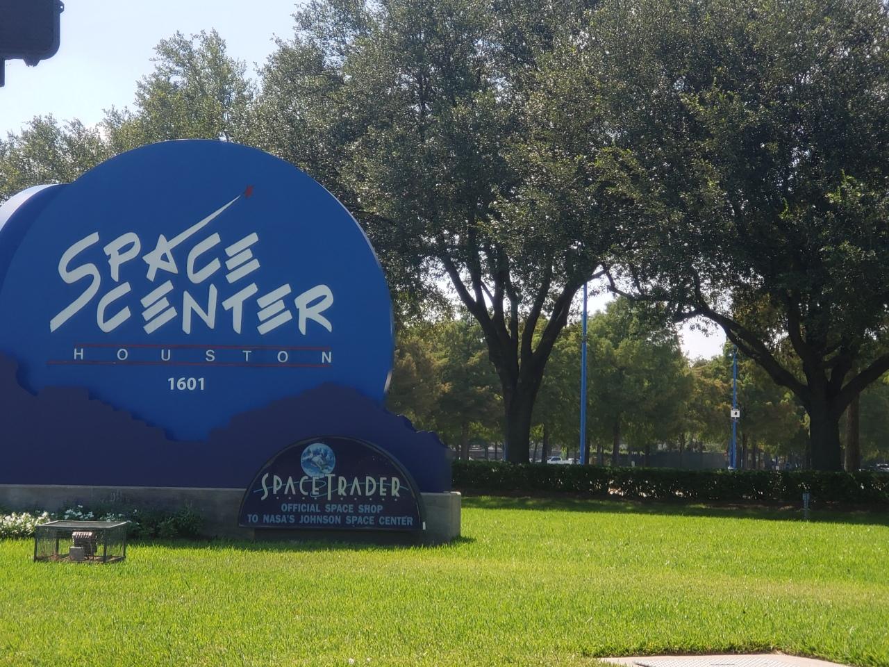 NASA Space Center in Houston,Texas