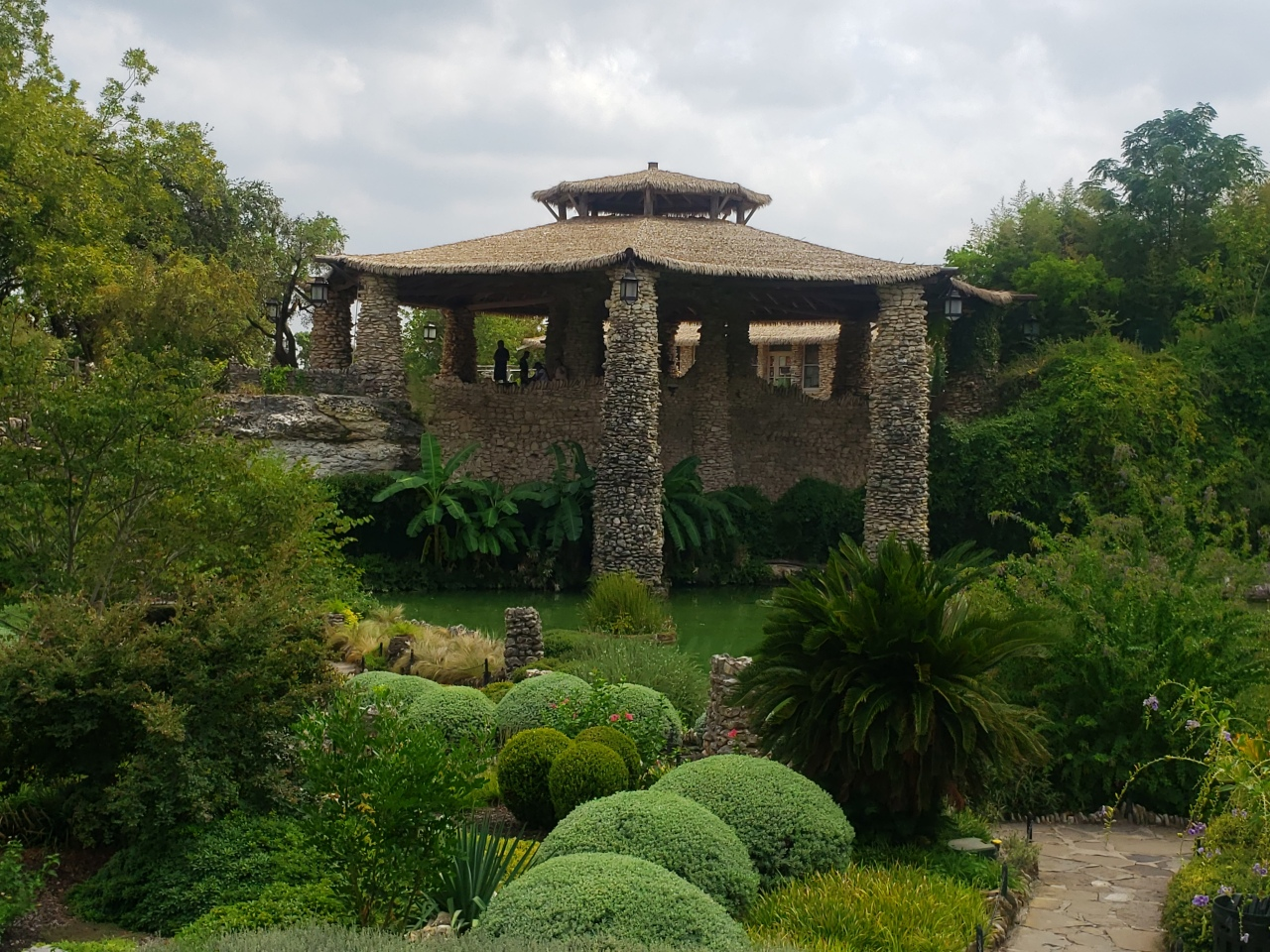 Japanese Tea Garden in San Antonio, Texas