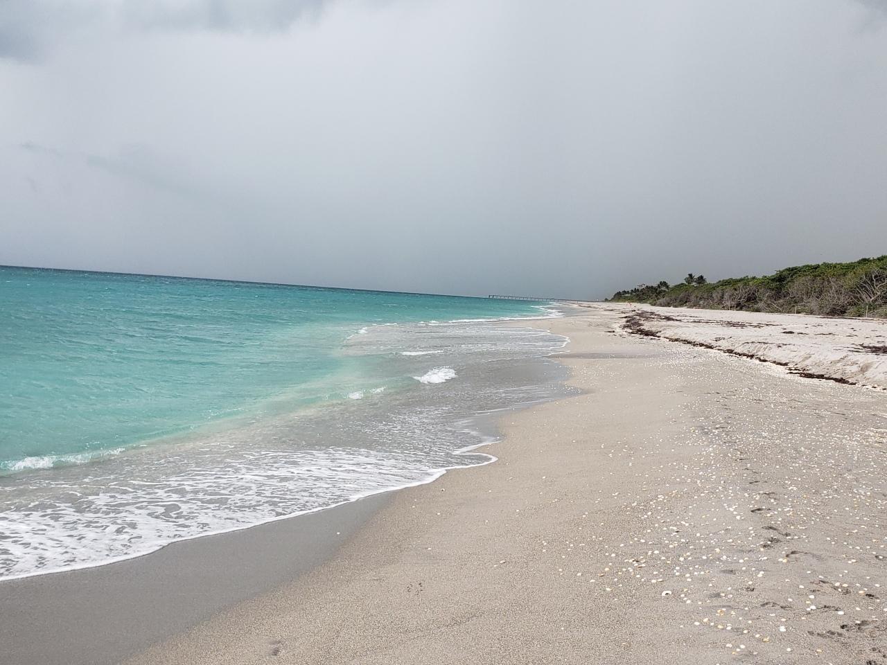 Jupiter Beach in Jupiter,Florida